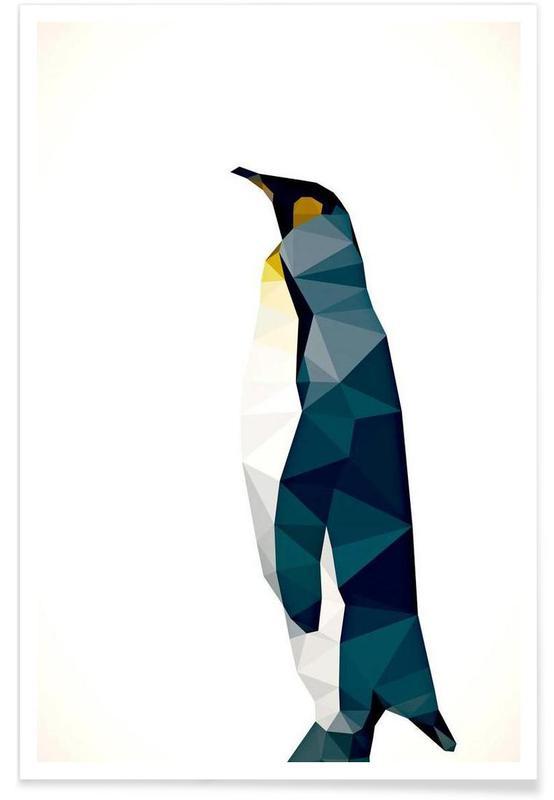 Aptenodytes patagonicus Poster