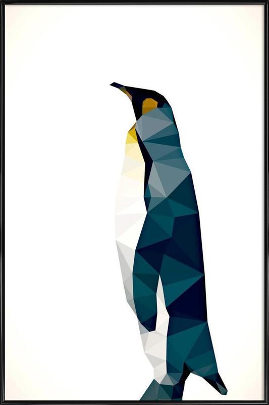 Aptenodytes patagonicus Framed Poster