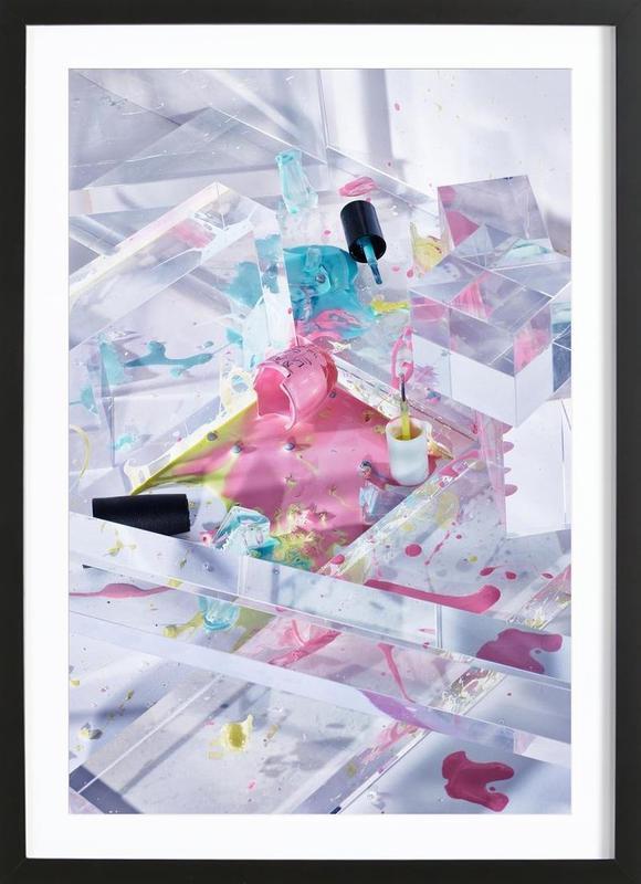 Smashed Framed Print