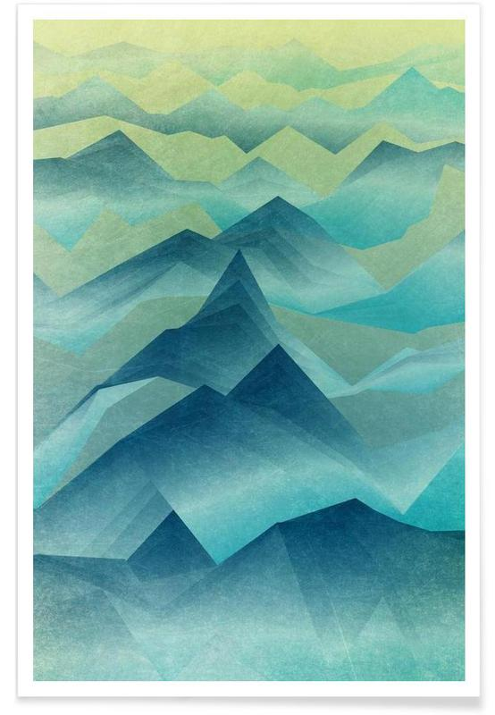 Paysages abstraits, Top of the World affiche