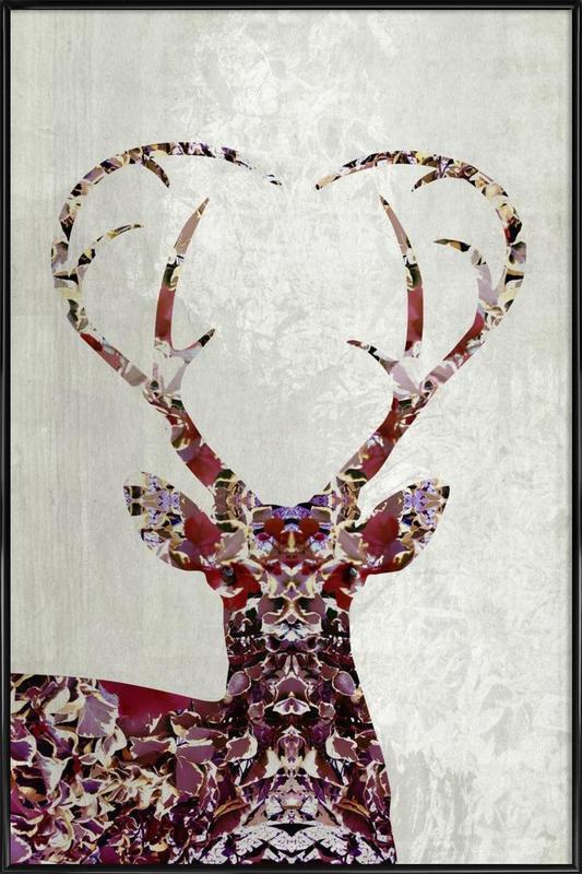 My Deer Love ingelijste poster