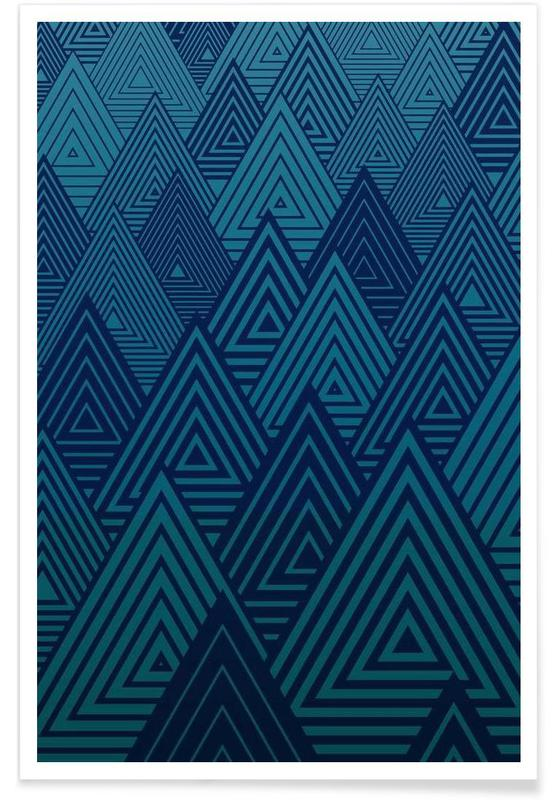 Indigo Mountains affiche