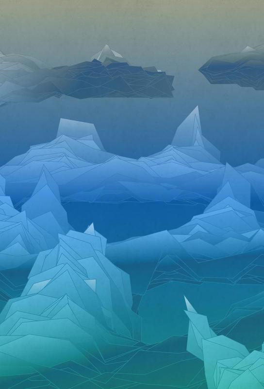 Antarctica Aluminium Print