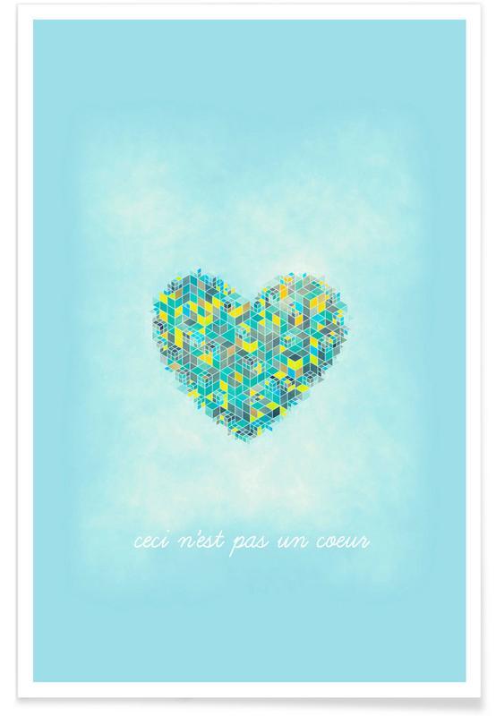 Herzen, Ceci n'est pas un cœur -Poster