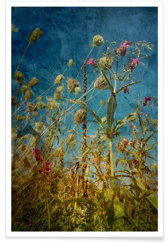 Blätter & Pflanzen, Heat Flowers -Poster