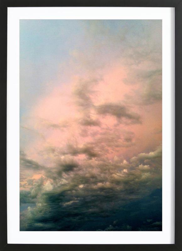 Pink Epic Framed Print
