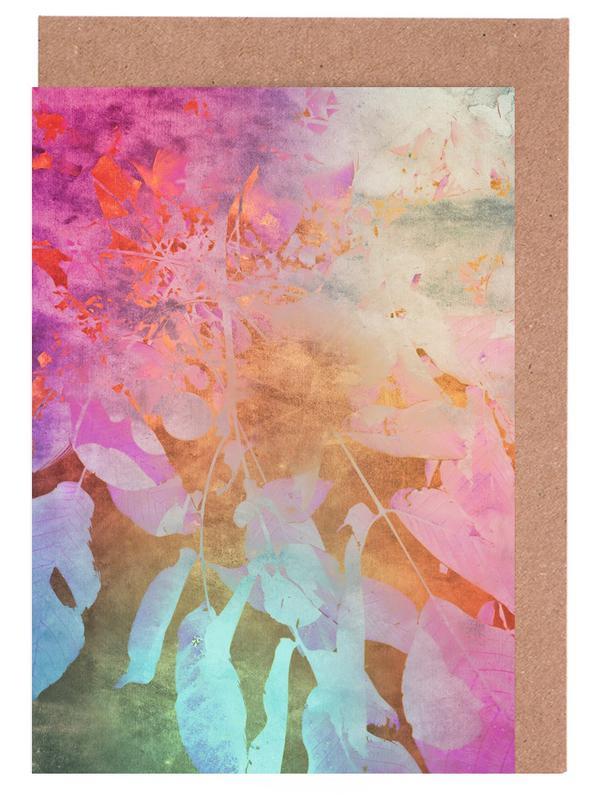 Blätter & Pflanzen, Softly -Grußkarten-Set