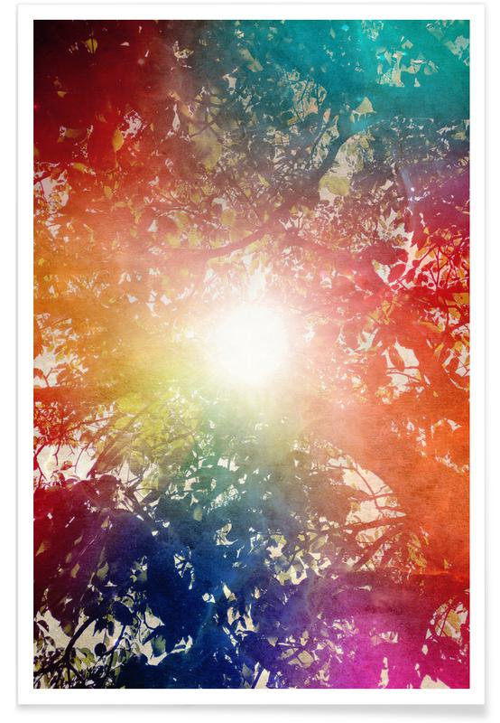 Leaves & Plants, Skies & Clouds, Sunshine Poster
