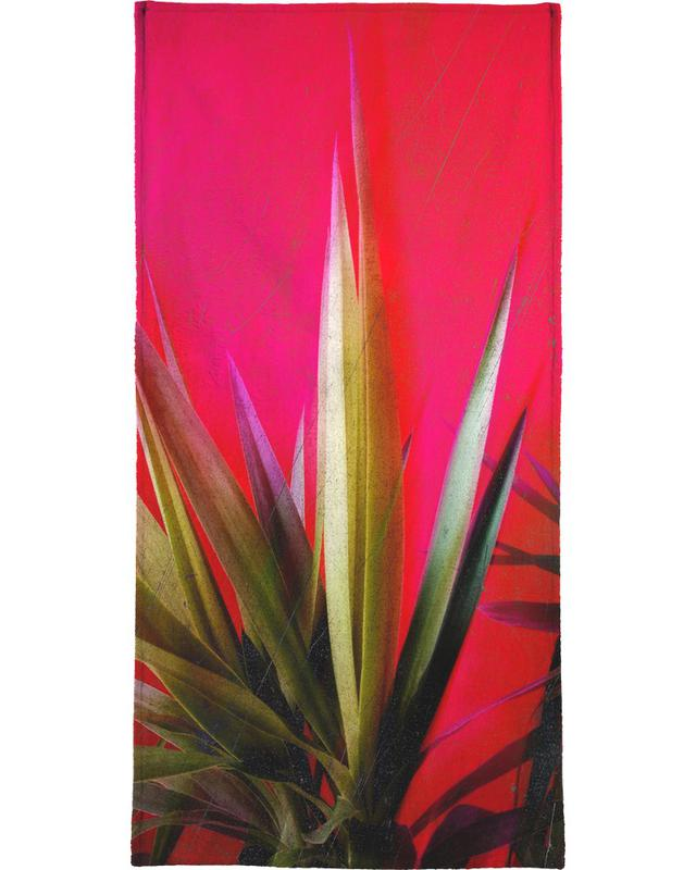 Vivid Pink Beach Towel