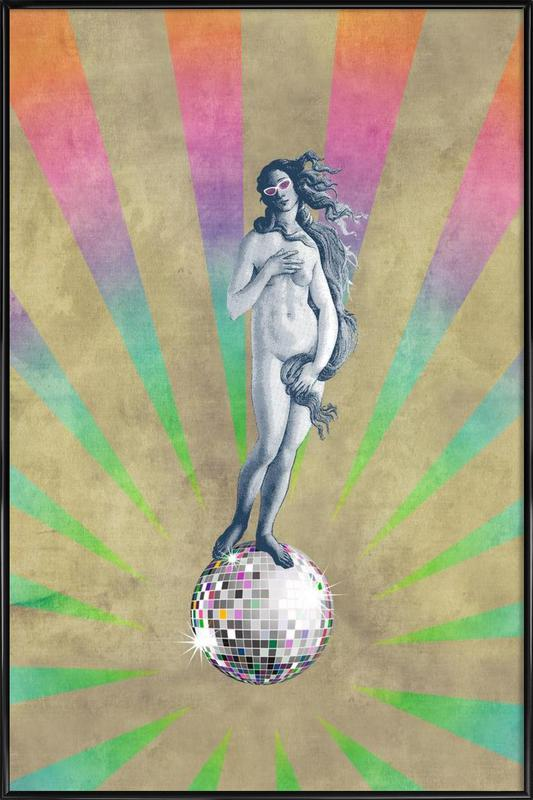 Disco Venus ingelijste poster