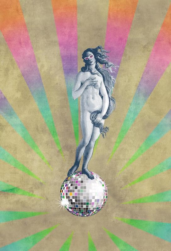 Disco Venus Acrylic Print