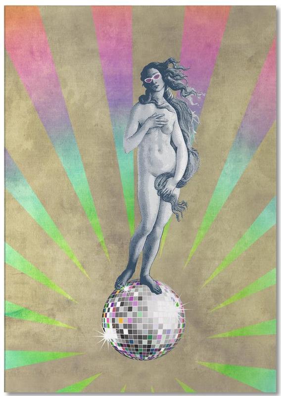 Disco Venus Notepad