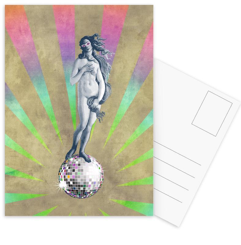 Popart, Disco Venus ansichtkaartenset