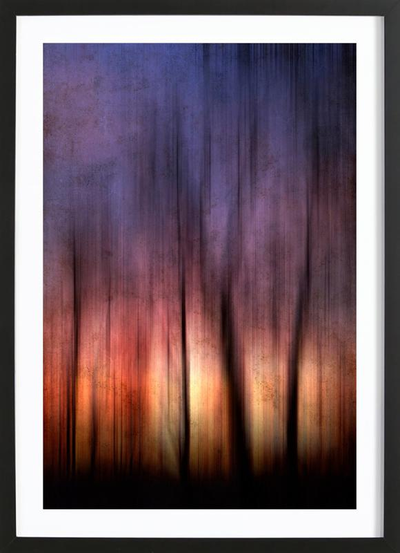 A Blurred Sunset Preview Framed Print