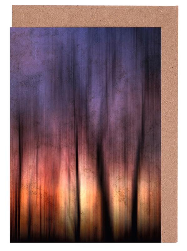 A Blurred Sunset Preview -Grußkarten-Set
