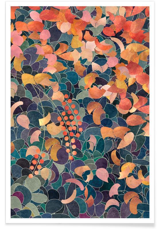 Motifs, Feuilles & Plantes, A Shiny Path 3 affiche