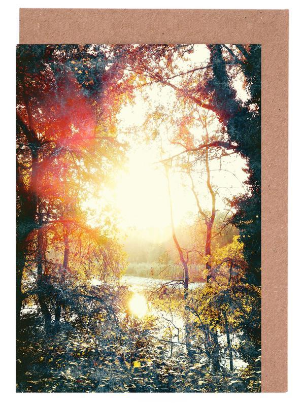 Sunset Gift -Grußkarten-Set