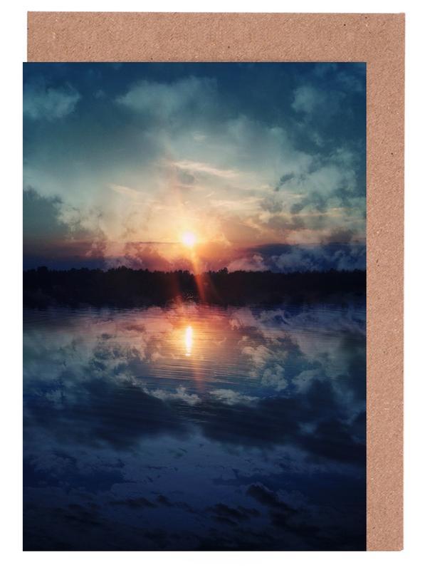 Ozeane, Meere & Seen, Sonnenuntergänge, See You Tomorrow -Grußkarten-Set