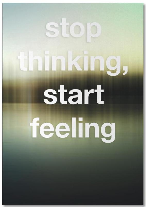 Stop Thinking Notepad