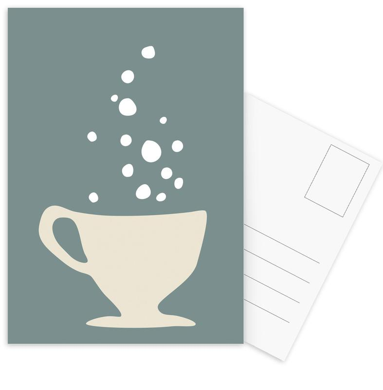 , Bubbly Beverage -Postkartenset