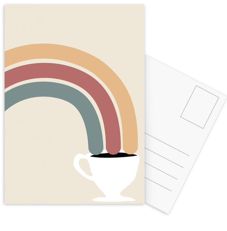 , Follow The Rainbow -Postkartenset