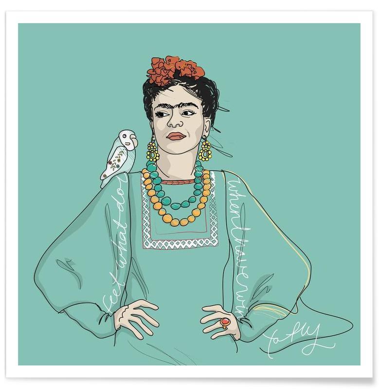 Frida Kahlo, Frida affiche