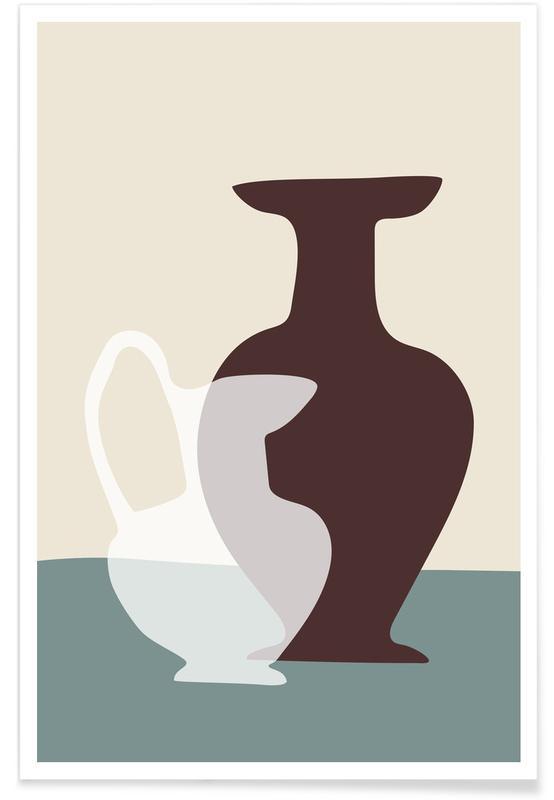 , Kitchen Shapes Poster