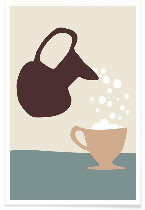 , Pouring Poster