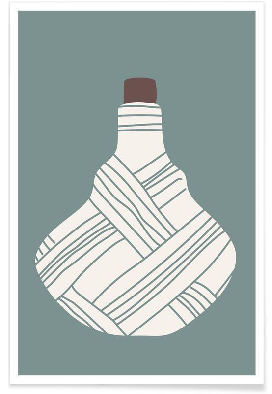 , Vintage Bottle 2 -Poster