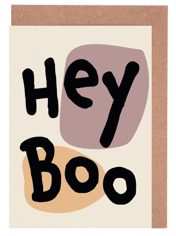 , Hey Boo -Grußkarten-Set
