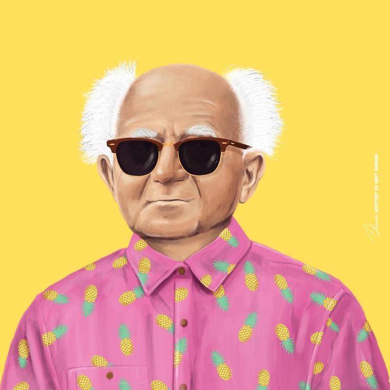 Ben Gurion Acrylic Print