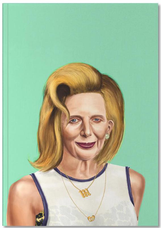 Politische Figuren, Pop Art, Margaret Thatcher Notebook