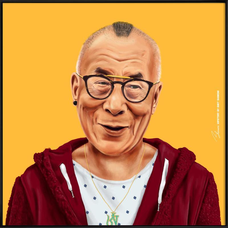 Dalai Lama affiche encadrée