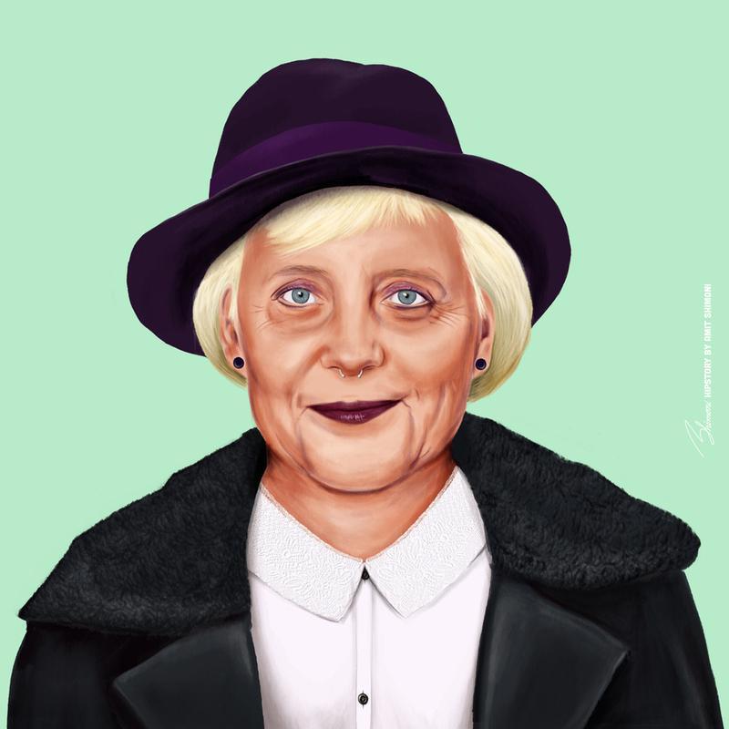 Angela canvas doek