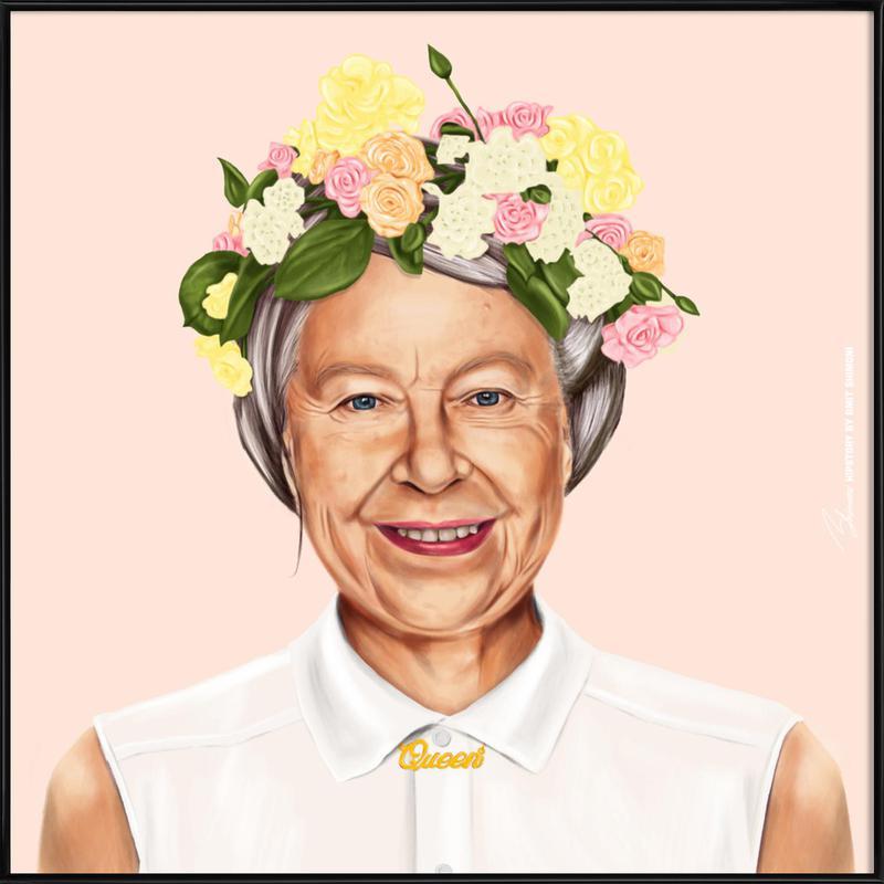 Queen Elizabeth Framed Poster