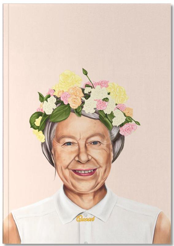 Politische Figuren, Pop Art, Queen Elizabeth Notebook