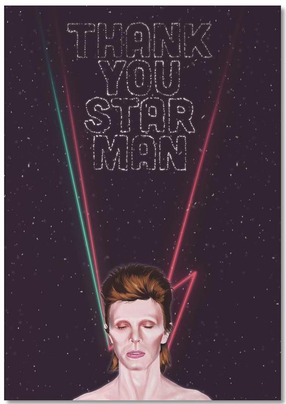 Bowie -Notizblock