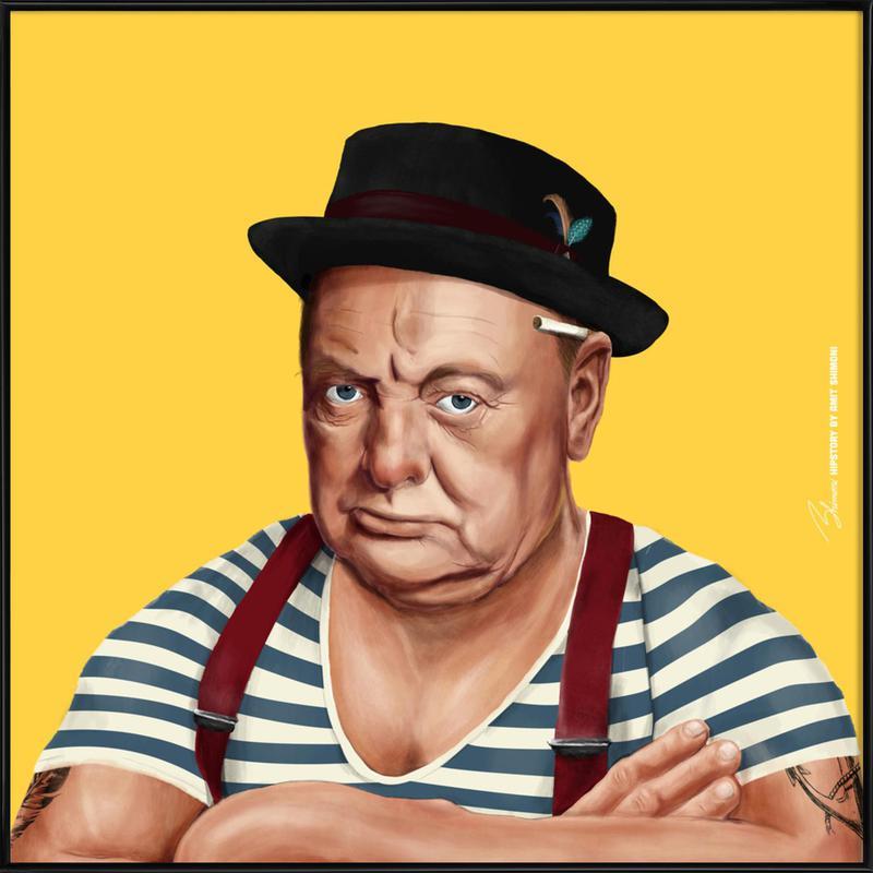 Churchill Framed Poster