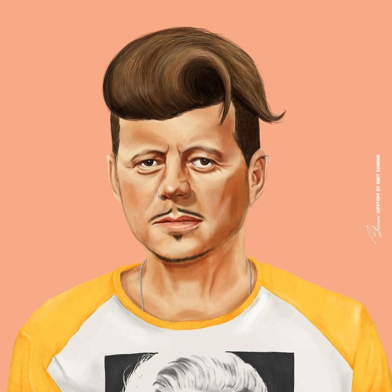 Kennedy -Leinwandbild