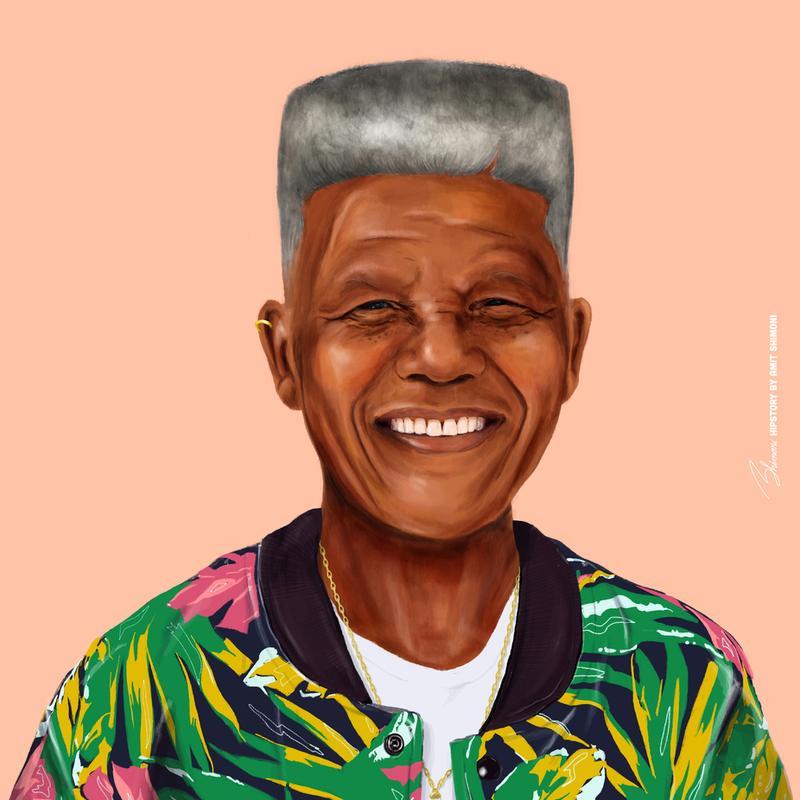 Mandela Aluminium Print