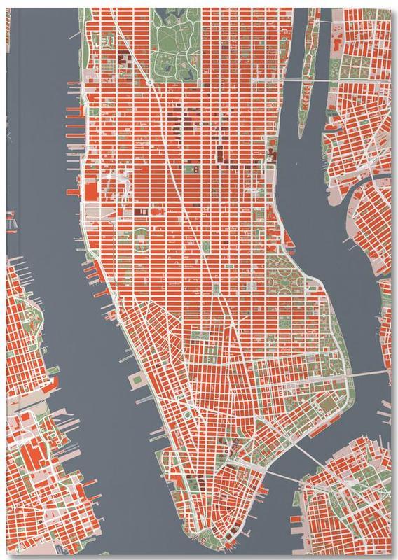 Stadtpläne, New York, NYC classic Notebook
