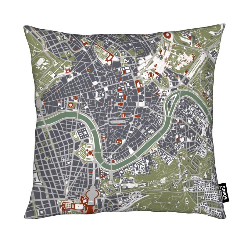 City Maps, Rome, Rome Engraving