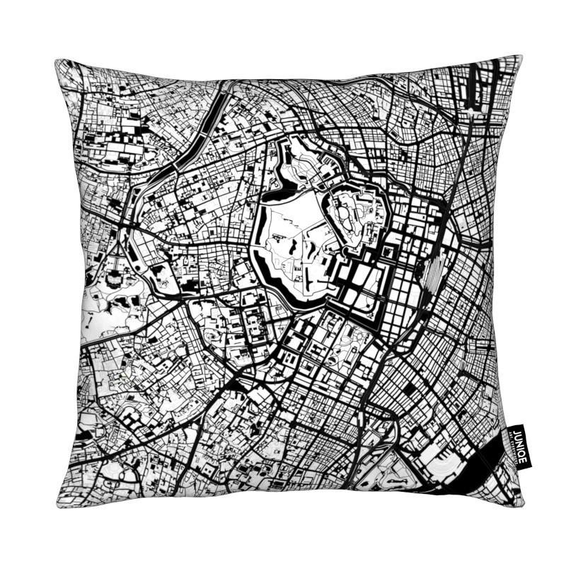 Tokyo, City Maps, Black & White, Tokyo Black & White