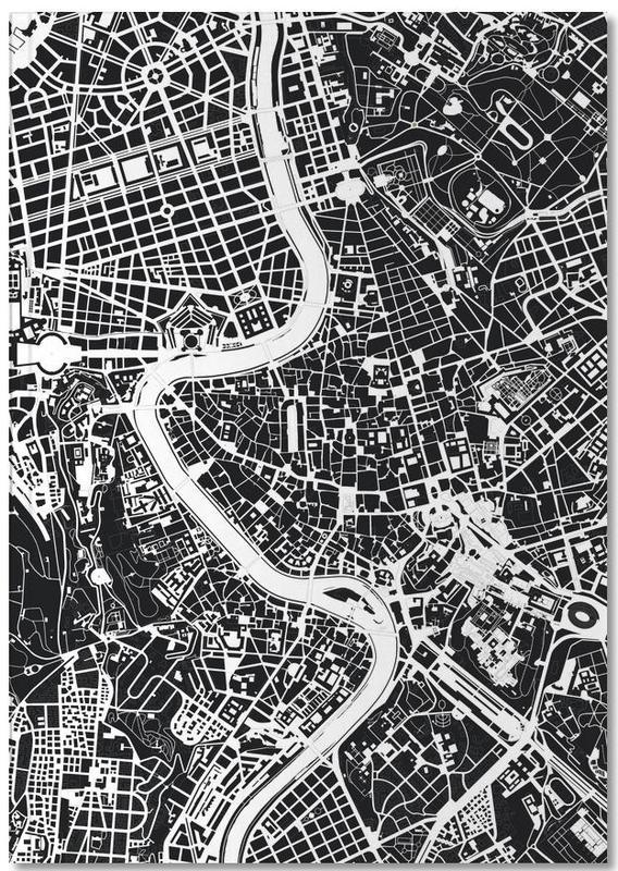 Rom, Schwarz & Weiß, Rome Black & White Notebook