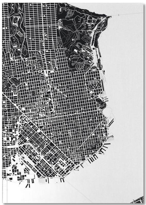 San Francisco, Noir & blanc, San Francisco Black & White Notebook
