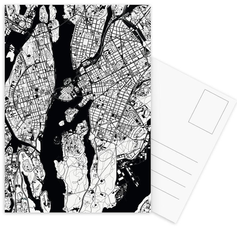 Black & White, Stockholm, Stockholm Black & White Postcard Set