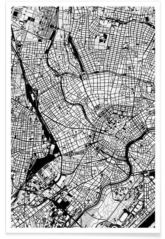 Vienna Black & White -Poster