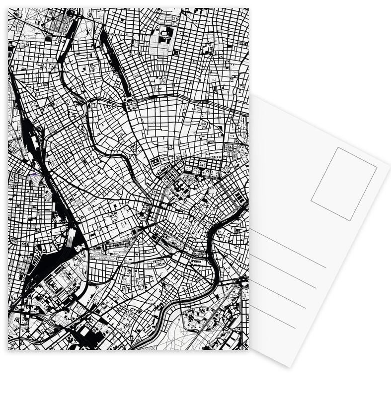 Wien, Schwarz & Weiß, Vienna Black & White -Postkartenset