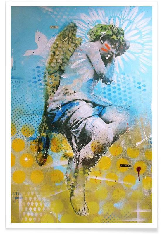 Street Art, Angelito affiche