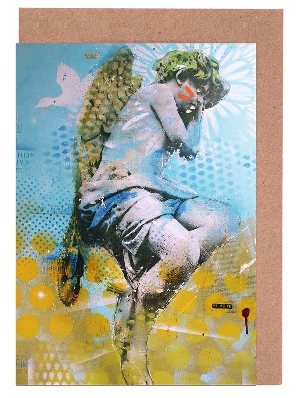 Street Art, Angelito cartes de vœux